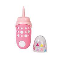 Интерактивная бутылочка Zapf для куклы Baby Born Забавное кормление (822104)