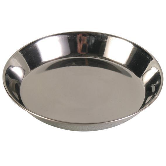 Миска металл. для кошки 0,3 л/ф13 см.