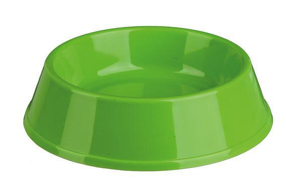 Миска пластикова для кішки, 0,2 л / ф 12 см.