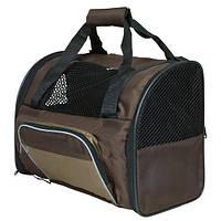 "Рюкзак ""Shiva"" 41х30х21 см, нейлон, коричневый/беж."