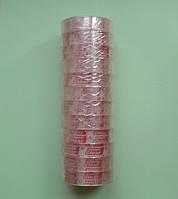 Скотч малый узкий прозрачный, 12мм х 25м, упаковка (12 штук), фото 1