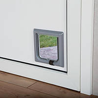 Дверца для  кошки 14,7 х 15,8см (3 цвета)