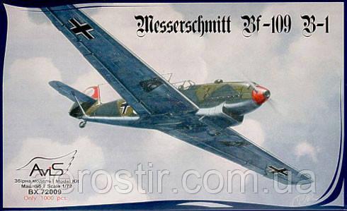 Messerschmitt Bf 109B-1 1/72 AviS 72009