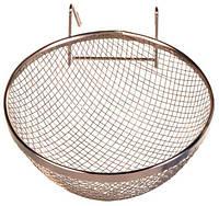 Гнездо для канарейки ø 12 см, метал.