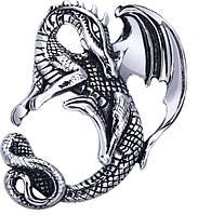 "Кулон серебряный ""Дракон"""