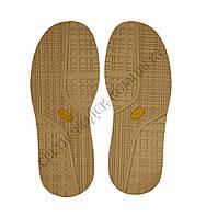 Резиновая подошва/след для обуви BISSELL, т.4,25 мм, цв. бежевый, art.115