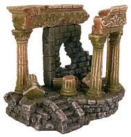 Грот для аквариума Римские колонны 13 см, пластик