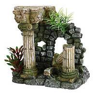 """Грот """"Римские колонны"""" 16 см, пластик"""