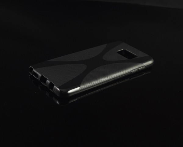 Чехол Samsung Note 5 / N9200 силикон TPU X-LINE черный