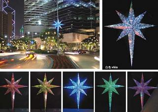 Светодиодные звезды, шары
