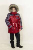 """Куртка-пуховик для мальчика """"Аляска"""", 122-164 р-р"""