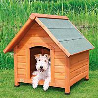 Будка для собаки с остроконечной крышей natura,  M: 77 х 82 х 88 см