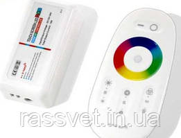 Контроллер RGB 18A сенсорный 2.4g Touch White