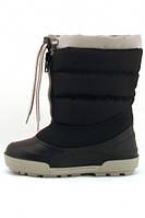 Детские зимние сапоги Alisa LINE Alaska черные размер (26-31)