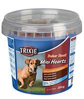 Trixie TX-31524 Snack Mini Heart для маленьких собак  (с курицей, баранины и лосося)200гр