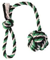 Веревка с узлом  DentaFun  7 см /50 см, фото 1