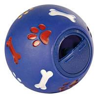 Игрушка для собак мяч для лакомства, 14.5 см