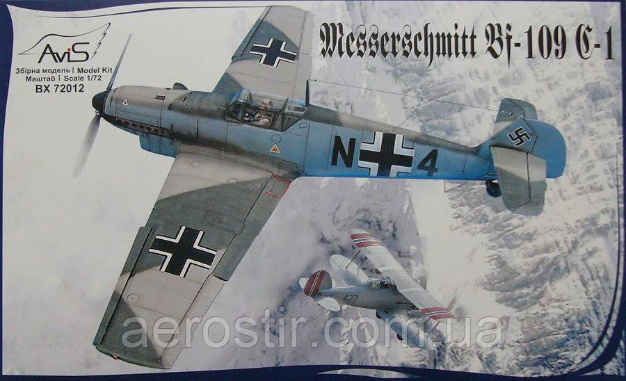 Messerschmitt Bf-109C-1 1/72 AviS 72012