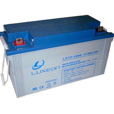 Гелева акумуляторна батарея Luxeon LX 12-120G