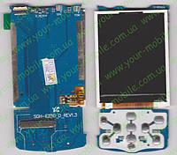 Дисплей Samsung E250 D с подложкой (copy)