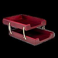Лоток деревянный двойной Bestar (1468XDU)