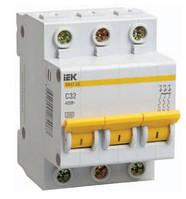Автоматический выключатель  IEK ВА 47-29 3Р  10А