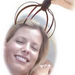 Вибрирующий массажер для головы и шеи позвоночника