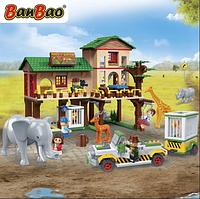 "Конструктор BanBao 6651 ""Сафари. Ранчо"", 836 дет"