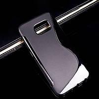 Чехол Samsung G920 / S6 силикон TPU S-LINE черный