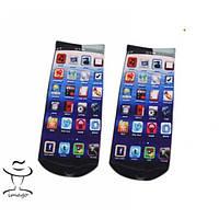 Интересные Носочки на подарок Экран iPhone