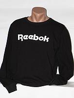Мужской свитшот Reebok - черного цвета