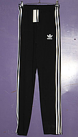 Мужские спортивные штаны Adidas черные (утепленные)