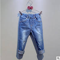 Джинсы для девочек и мальчиков на 110,130 см