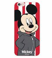 Силиконовый чехол бампер для Iphone 5 / 5S с картинкой Микки Маус