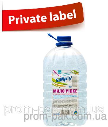 Жидкое мыло 5л Simply Цветочный комплекс, фото 2