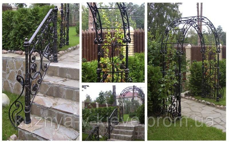 Садовая арка 9