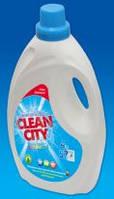 Гель для стирки Clean city - Чисте місто 4000 мл. Уиверсальний
