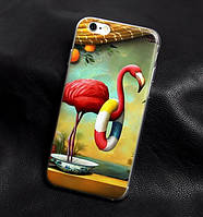 Эксклюзивные чехлы для Iphone 5 / 5S с принтом Фламинго