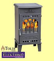 Печь чугунная на дровах Toldi Eco 8 кВт