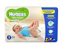 Huggies Ultra Comfort для мальчиков и для девочек 3 - (80 шт)