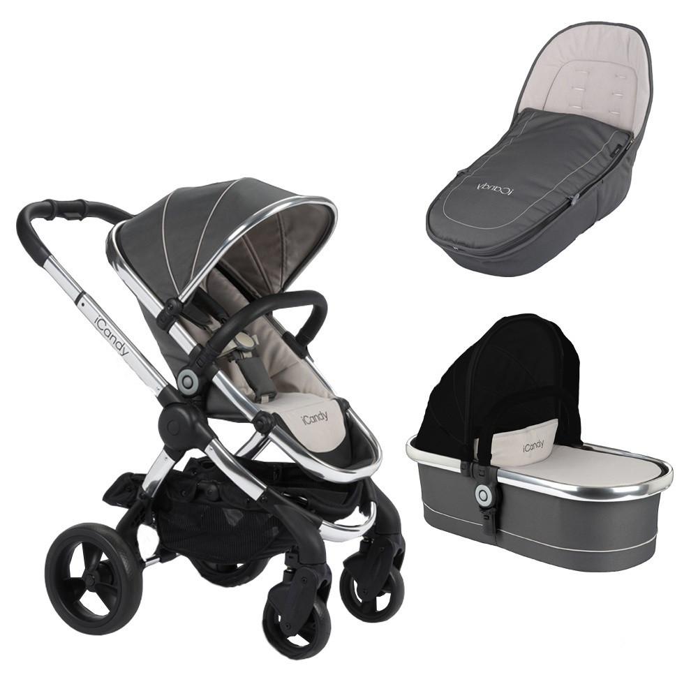 Детская универсальная коляска 2 в 1 iCandy PEACH