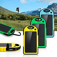 Cолнечное зарядное устройство Solar Charger 1000 s водонепроницаемое для телефонов, планшетов, камер и т.д.