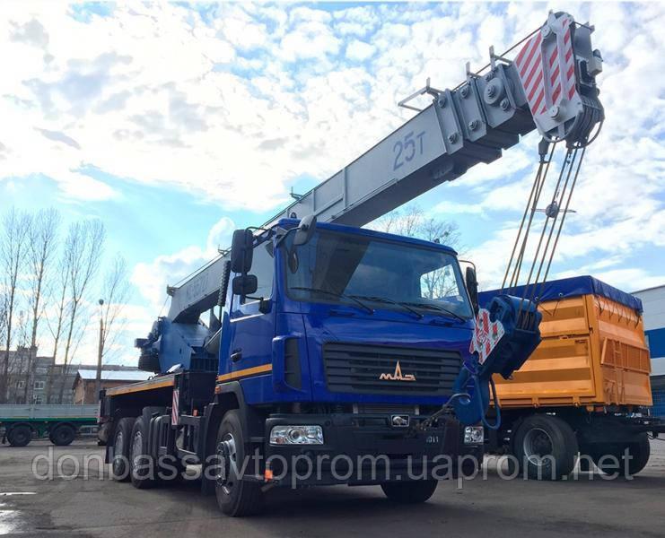 Автокран КС-55727-С-12 Машека 25 тонн