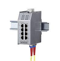 Управляемый промышленный коммутатор Microsens MS650869PMSMC-48-V (1x100/1000Base-T,7x10/100Base-TX, 3xSFP,PoE)