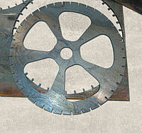 Фигурная резка металла ЧПУ