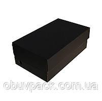Коробка обувная 340х200х120 мужской туфель черная