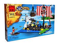 Конструктор Brick 302 Пиратский плот