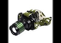 Налобный фонарик Bailong Police BL-6808, мощный аккумуляторный фонарь