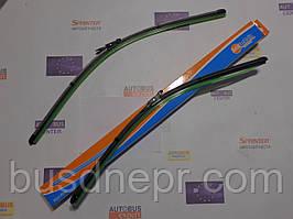 Щетки стеклоочистителя(комплект) MB Sprinter 06->/Vito 639/VW Crafter пр-во AUTOTECHTEILE
