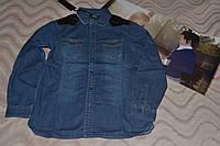 Джинсовая рубашка Италия Street Gang 36 размер.